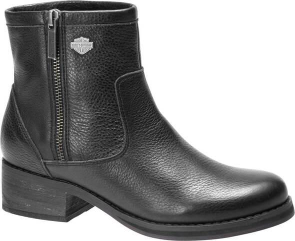 Harley-Davidson Women's Hennessey 5-Inch Fashion Leather Ankle Boots D84528 - Wisconsin Harley-Davidson