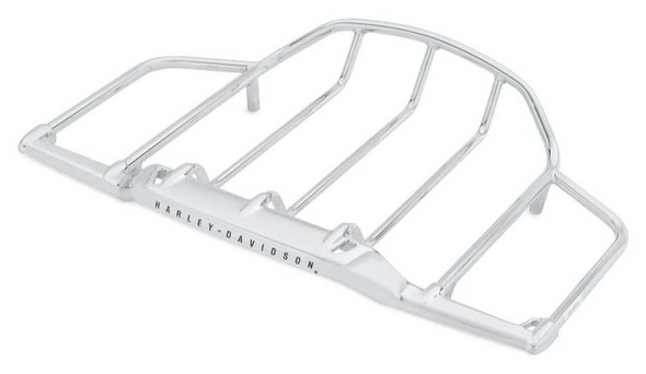 Harley-Davidson Air Wing Tour-Pak Luggage Rack - Chrome Finish 79179-08 - Wisconsin Harley-Davidson