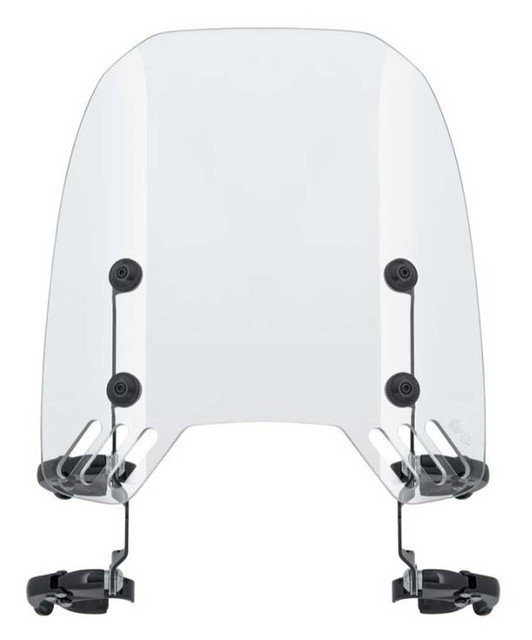 Harley-Davidson Quick-Release Compact Windshield, Fits FXDRS Models 57400361 - Wisconsin Harley-Davidson