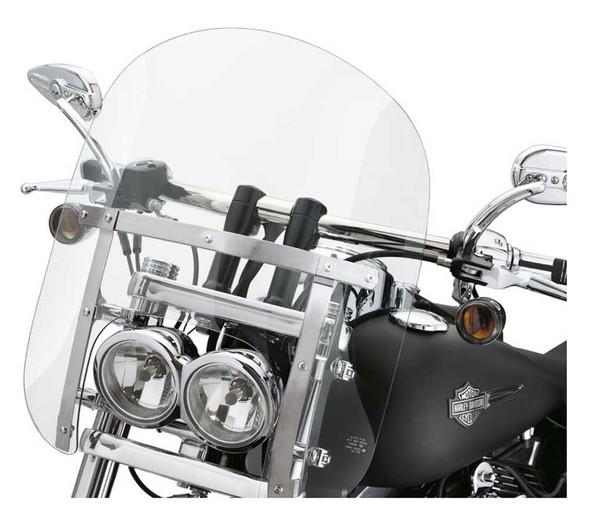 Harley-Davidson Quick-Release Compact Windshield, FXDF & FXDFSE Models 57338-08 - Wisconsin Harley-Davidson