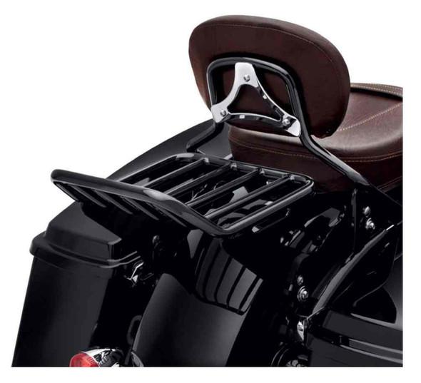 Harley-Davidson Detachable Two-Up Luggage Rack - Black, Touring Models 50300042A - Wisconsin Harley-Davidson