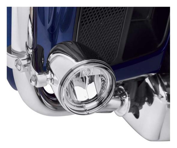 Harley-Davidson Daymaker Reflector LED Fog Lamps - Chrome Housing 68000090 - Wisconsin Harley-Davidson
