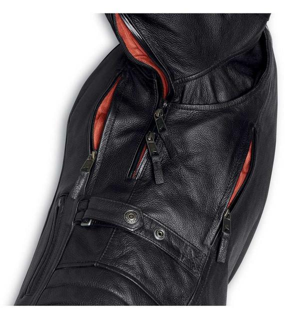 Harley-Davidson Womens Vanocker Waterproof Triple Vent Leather Jacket 98004-20VW - Wisconsin Harley-Davidson