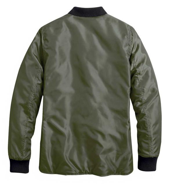 Harley-Davidson Women's Reversible Quilted Jacket, Black/Green 98404-20VW - Wisconsin Harley-Davidson