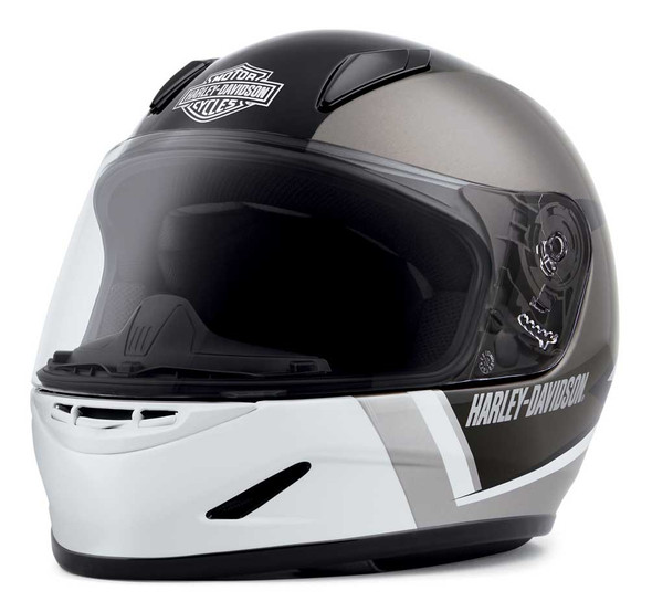 Harley-Davidson Youth Killian H30 Full-Face Kids Helmet, White 98117-20VX - Wisconsin Harley-Davidson