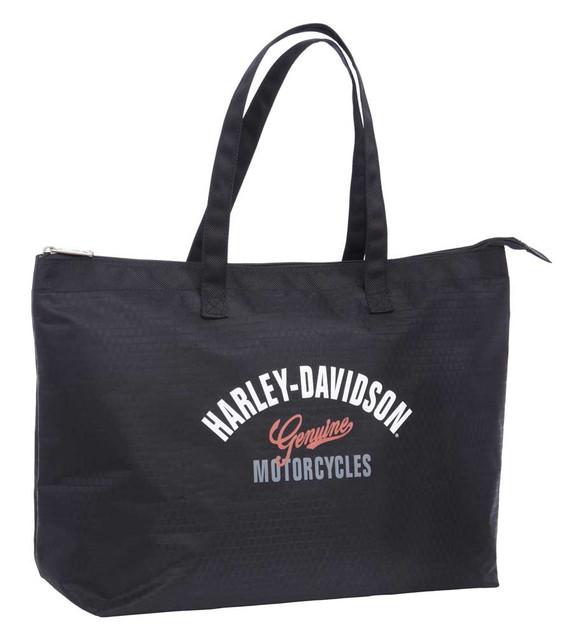 Harley-Davidson Women's Tail of Dragon Light-Weight Shopper Tote 99914-DRAGON - Wisconsin Harley-Davidson