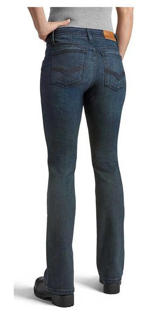 Harley-Davidson Womens Bootcut Performance Wicking Jeans, Dark Indigo 99071-20VW - Wisconsin Harley-Davidson