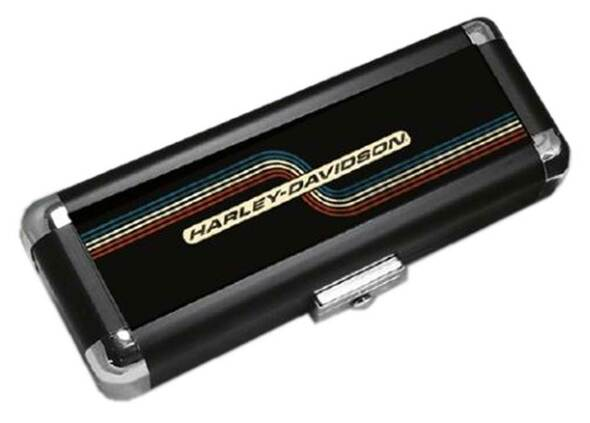 Harley-Davidson H-D Light-Weight Hard Dart Carrying Case – Retro Black 61935 - Wisconsin Harley-Davidson