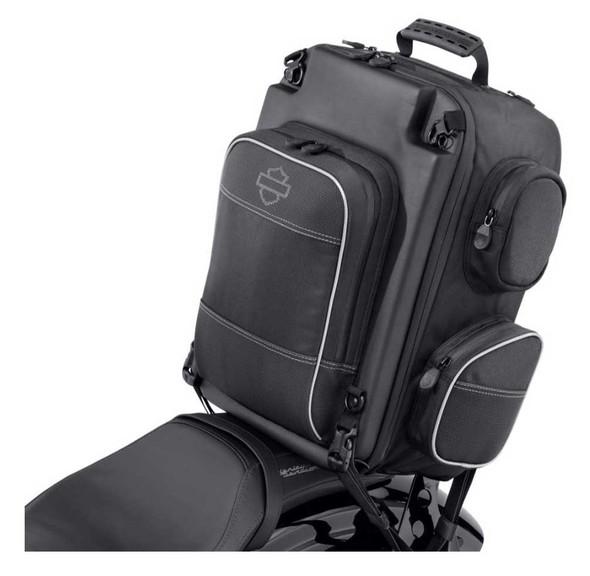 Harley-Davidson Onyx Premium Luggage Weekender Bag, Universal Fit-Black 93300105 - Wisconsin Harley-Davidson