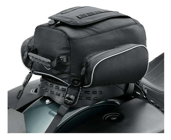 Harley-Davidson Onyx Premium Luggage Tail Bag, Fits Passenger Pillions 93300106 - Wisconsin Harley-Davidson