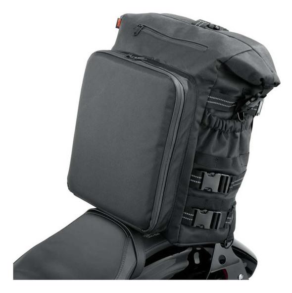 Harley-Davidson Overwatch Large Sissy Bar Water-Resistant Bag - Black 93300120 - Wisconsin Harley-Davidson