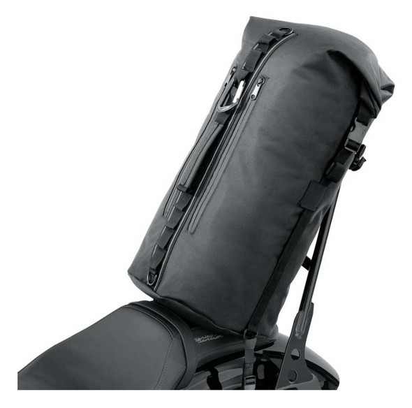 Harley-Davidson Overwatch Dry Water-Resistant Bag, Universal Fit- Black 93300119 - Wisconsin Harley-Davidson
