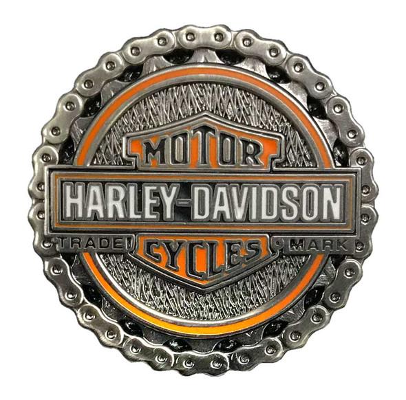 Harley-Davidson 1.25 in. Biker Chain Trademark Chain Pin, Antique Finish 8009274 - Wisconsin Harley-Davidson