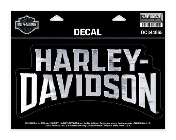 Harley-Davidson Insignia Bold H-D Decal, XL Size - 8.125 x 4 inches DC344065 - Wisconsin Harley-Davidson