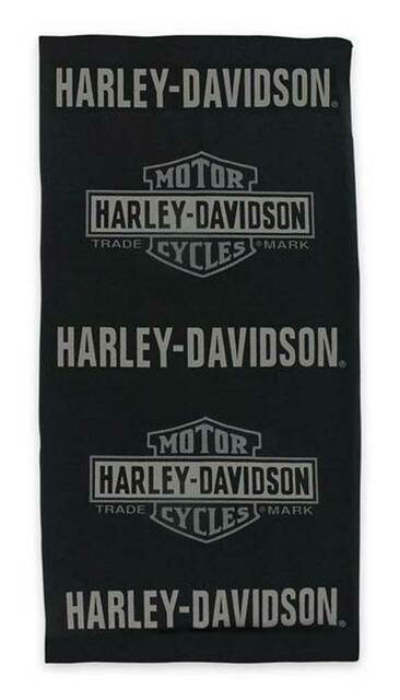 Harley-Davidson Men's Premium B&S Multifunctional Headwear - Black MHW34330 - Wisconsin Harley-Davidson