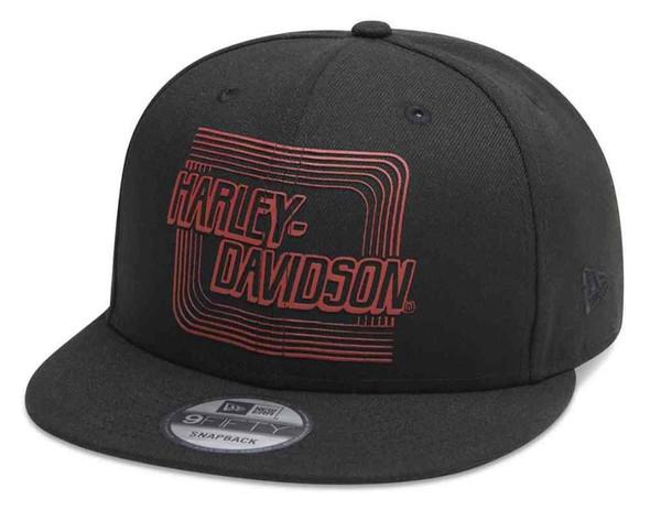 Harley-Davidson Men's Retro Outline 9FIFTY Adjustable Baseball Cap 99415-20VM - Wisconsin Harley-Davidson