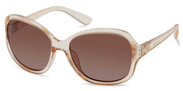 Harley-Davidson Women's Rebel Butterfly Sunglasses, Champagne Frame/Smoke Lenses - Wisconsin Harley-Davidson