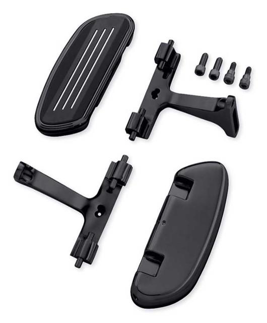 Harley-Davidson Streamliner Passenger Footboard Kit, Multi-Fit Item 50501819 - Wisconsin Harley-Davidson