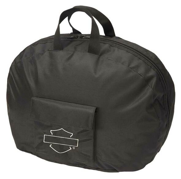 Harley-Davidson Bar & Shield Full Size Helmet Carry Bag, Water-Resistant - Black - Wisconsin Harley-Davidson