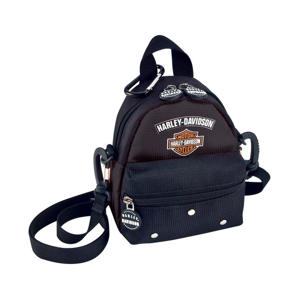 Harley-Davidson Mini Me Backpack. Black 99668 - Wisconsin Harley-Davidson