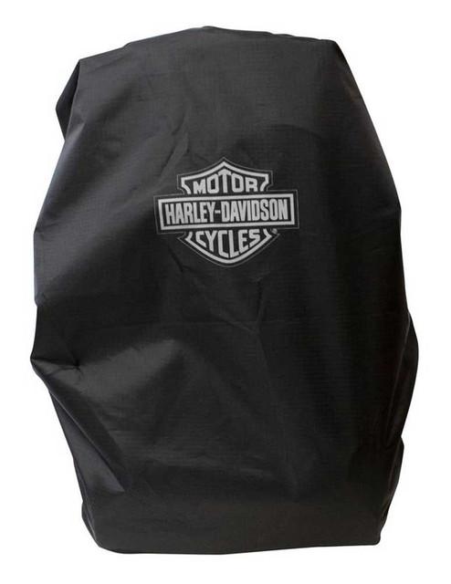 Harley-Davidson Adjustable & Packable Backpack Rain Cover - Black, BP7306S-BLACK - Wisconsin Harley-Davidson