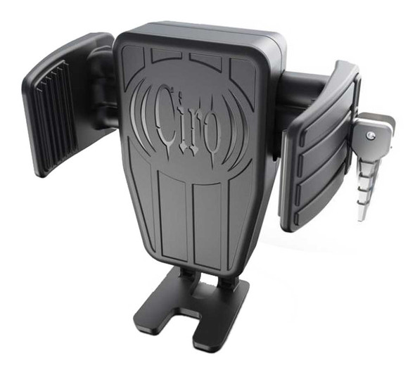Ciro CYBERCHARGER Phone Holder w/ 15W Wireless Fast Charger - Multiple Mounts - Wisconsin Harley-Davidson