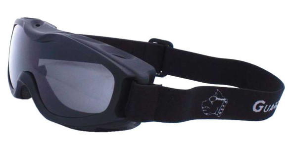 Guard-Dogs Unisex Evader 2 Matte Black FogStopper Goggles -Clear/Smoke 055-19-01 - Wisconsin Harley-Davidson