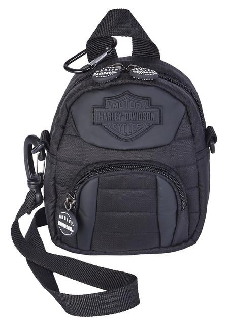 Harley-Davidson Midnight Mini-Me Small Backpack - Black 99669-MIDNIGHT - Wisconsin Harley-Davidson