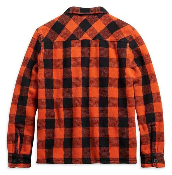 Harley-Davidson Men's Vintage Plaid Cotton Quilted Shirt Jacket 96262-21VM - Wisconsin Harley-Davidson