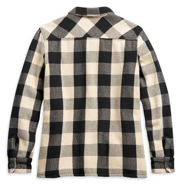 Harley-Davidson Women's Vintage Plaid Quilted Plaid Shirt Jacket 96241-21VW - Wisconsin Harley-Davidson