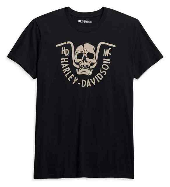 Harley-Davidson Men's Bar Bite Short Sleeve Cotton T-Shirt - Black 96045-21VM - Wisconsin Harley-Davidson