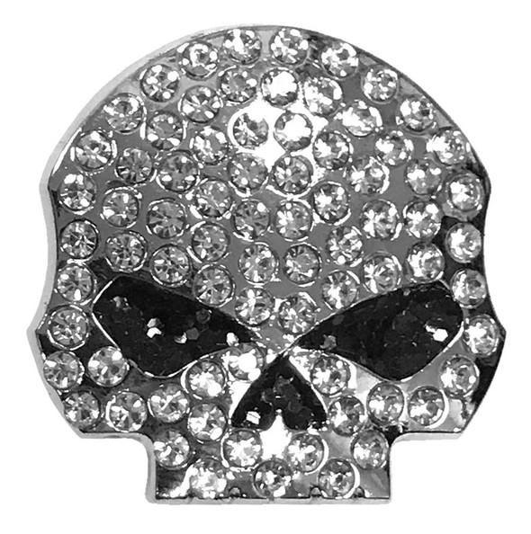 Harley-Davidson 3D Die Cast Studded Rhinestone Willie G Skull Pin P1199062 - Wisconsin Harley-Davidson