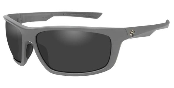 Harley-Davidson Men's Gears Sunglasses, Smoke Gray Lenses/Matte Graphite Frames - Wisconsin Harley-Davidson