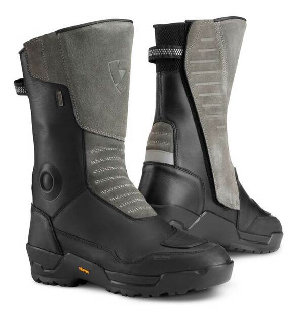 Harley-Davidson Men's Gravel Outdry Leather Riding Boots - Black 98153-21VM - Wisconsin Harley-Davidson