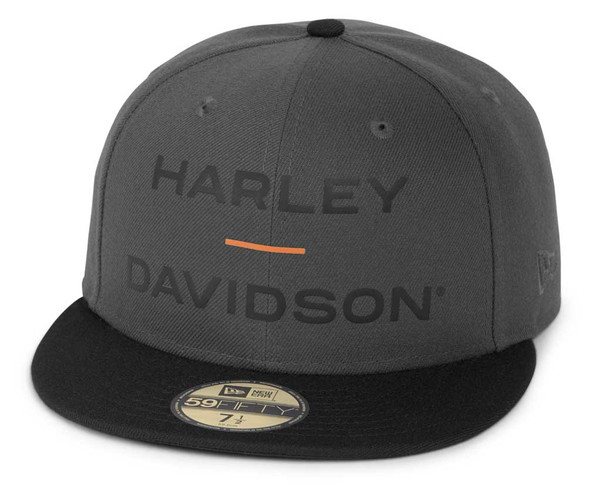 Harley-Davidson Men's Horizon Logo 59FIFTY Colorblocked Baseball Cap 97695-21VM - Wisconsin Harley-Davidson