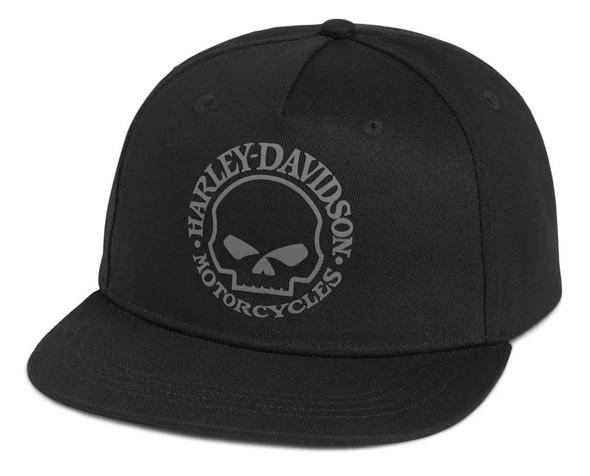 Harley-Davidson Men's Willie G Skull Snapback Baseball Cap - Black 97687-21VM - Wisconsin Harley-Davidson