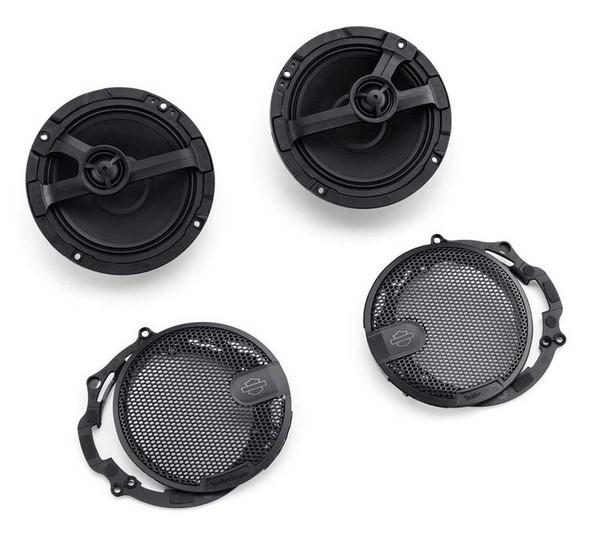 Harley-Davidson Audio Powered by Rockford Stage I Fairing Speakers 76000980 - Wisconsin Harley-Davidson
