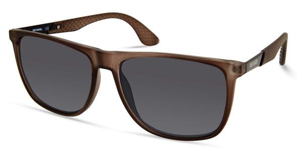 Harley-Davidson Men's Oversized Sporty Sunglasses, Gray Frame/Smoke Lenses - Wisconsin Harley-Davidson