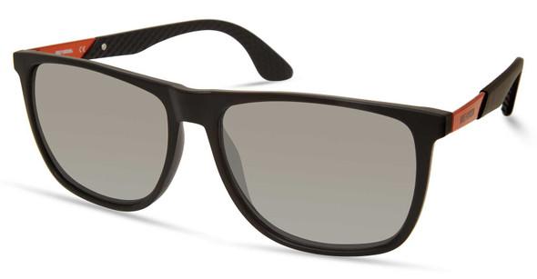 Harley-Davidson Men's Oversized Sunglasses, Matte Black Frame/Smoke Mirror Lens - Wisconsin Harley-Davidson