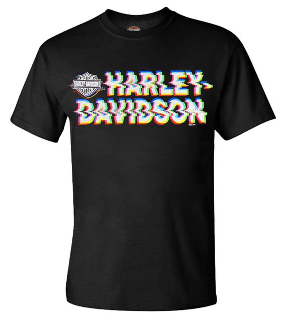Harley-Davidson Men's Garage Warrior Short Sleeve Crew-Neck Graphic Tee, Black - Wisconsin Harley-Davidson