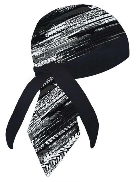 That's A Wrap Unisex Tread Lightly Stay Put WrapSure Sweatband Headwrap - Black - Wisconsin Harley-Davidson