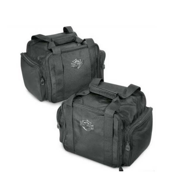 Harley-Davidson Bar & Shield Zippered Trunk Travel Packs, Set of 2 83847-09 - Wisconsin Harley-Davidson