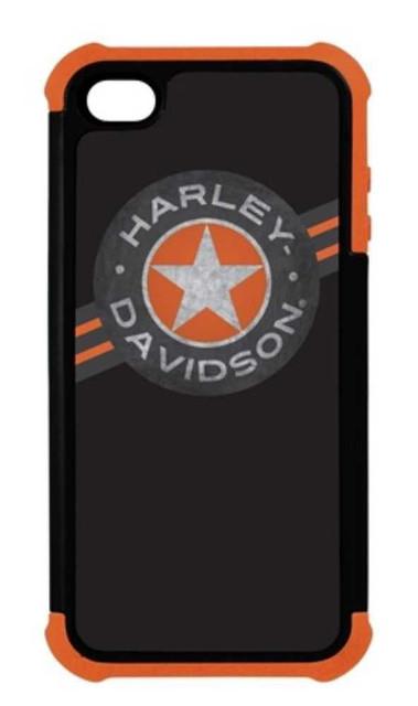 Harley-Davidson Heavy Duty Silicone Rugged iPhone 5/5s Shell Black 07457 - Wisconsin Harley-Davidson