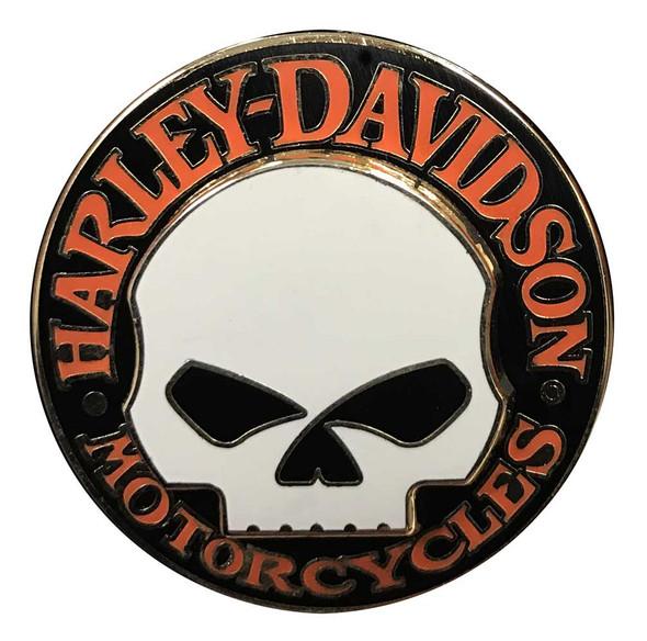Harley-Davidson Iconic Willie G Skull Logo Pin On Pin, 1.25 x 1.25 inch 64261-4 - Wisconsin Harley-Davidson