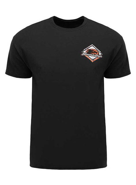 Harley-Davidson Screamin' Eagle Men's T-Shirt, Diamond Wings, Black HARLMT0220 - Wisconsin Harley-Davidson
