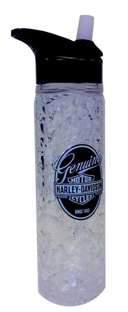 Harley-Davidson Water Bottle, Genuine Bar & Shield Crystal Freezer HD-GEN-1748 - Wisconsin Harley-Davidson