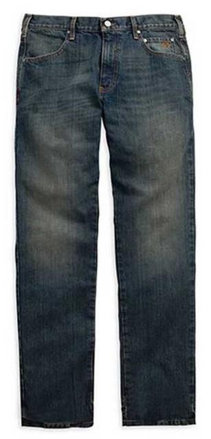 Harley-Davidson Men's Modern Straight Jeans Dark Wash Denim. 99004-15VM - Wisconsin Harley-Davidson