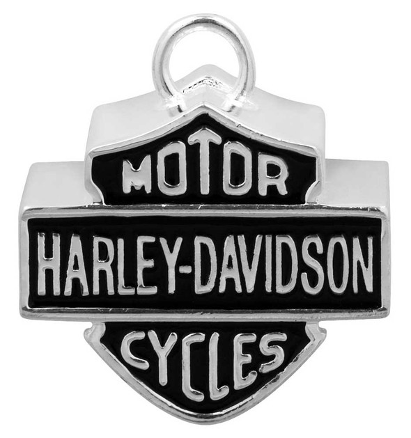 Harley-Davidson Large Bar & Shield Motorcycle Ride Bell, Silver HRB024 - Wisconsin Harley-Davidson
