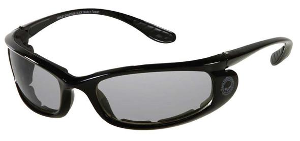 Harley-Davidson Men's Anti-Fog Sunglasses, Willie G Skull, Gray Lens/Black Frame - Wisconsin Harley-Davidson