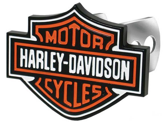 Harley-Davidson Bar & Shield Hitch Plug, 1-1/4-Inch and 2-Inch Brackets P2216 - Wisconsin Harley-Davidson
